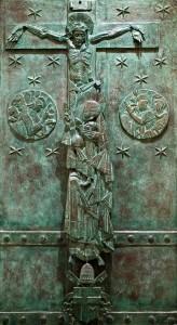 Floriano Bodini, Porta Santa, bronzo 2000.